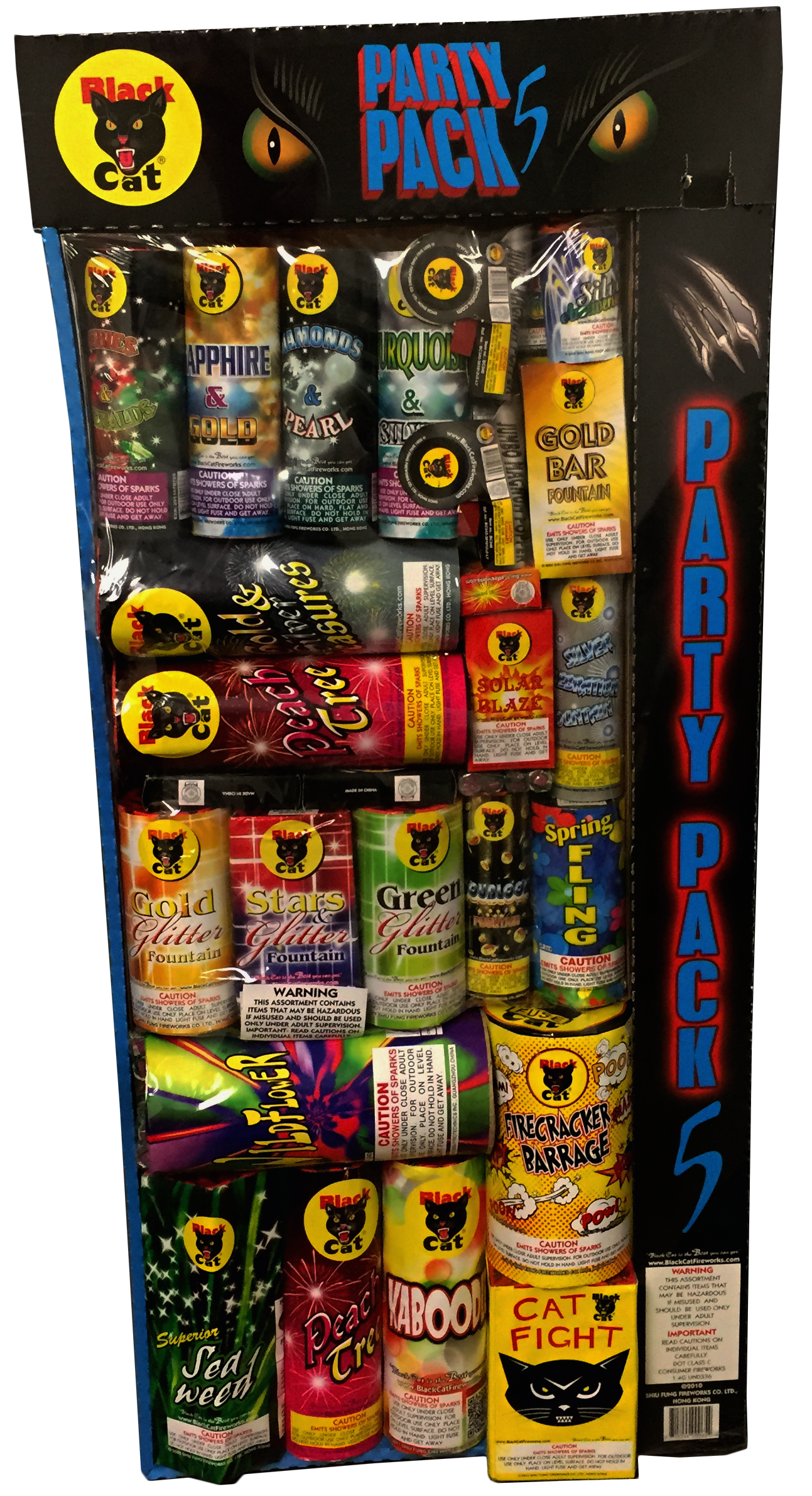 Party Pack #5 - Discount Fireworks Superstore